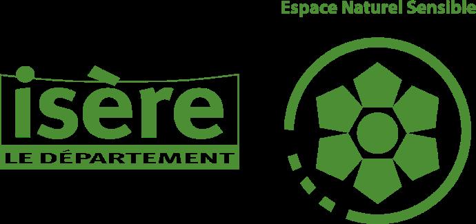 Logo espaces naturels sensibles Isère
