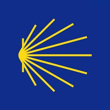 Logo européen de St Jacques de Compostelle