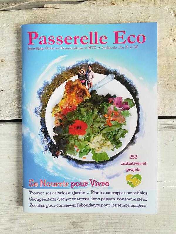 Couverture du numéro 70 de Passerelle Eco