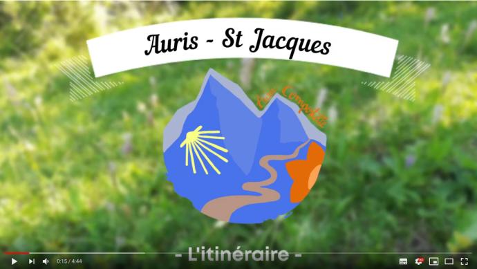 Vidéo : itinéraire du périple Auris - St Jacques de Compostelle