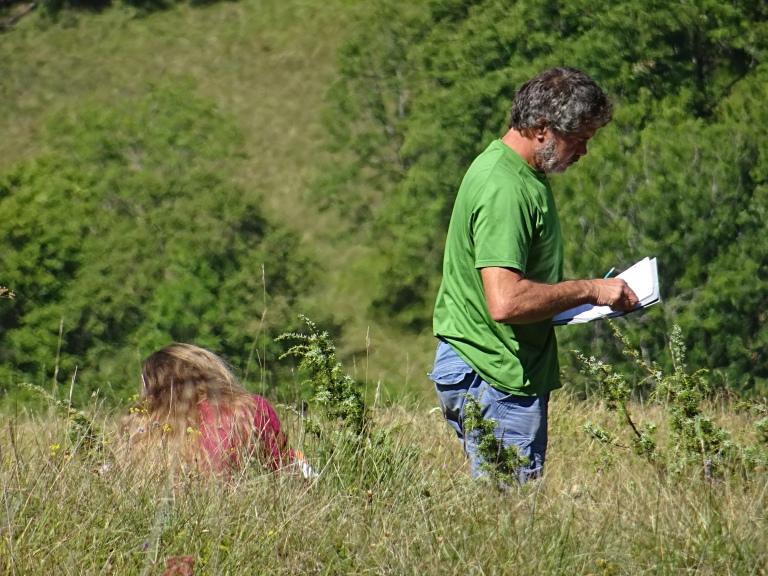 Sur le terrain : apprendre à identifier les plantes