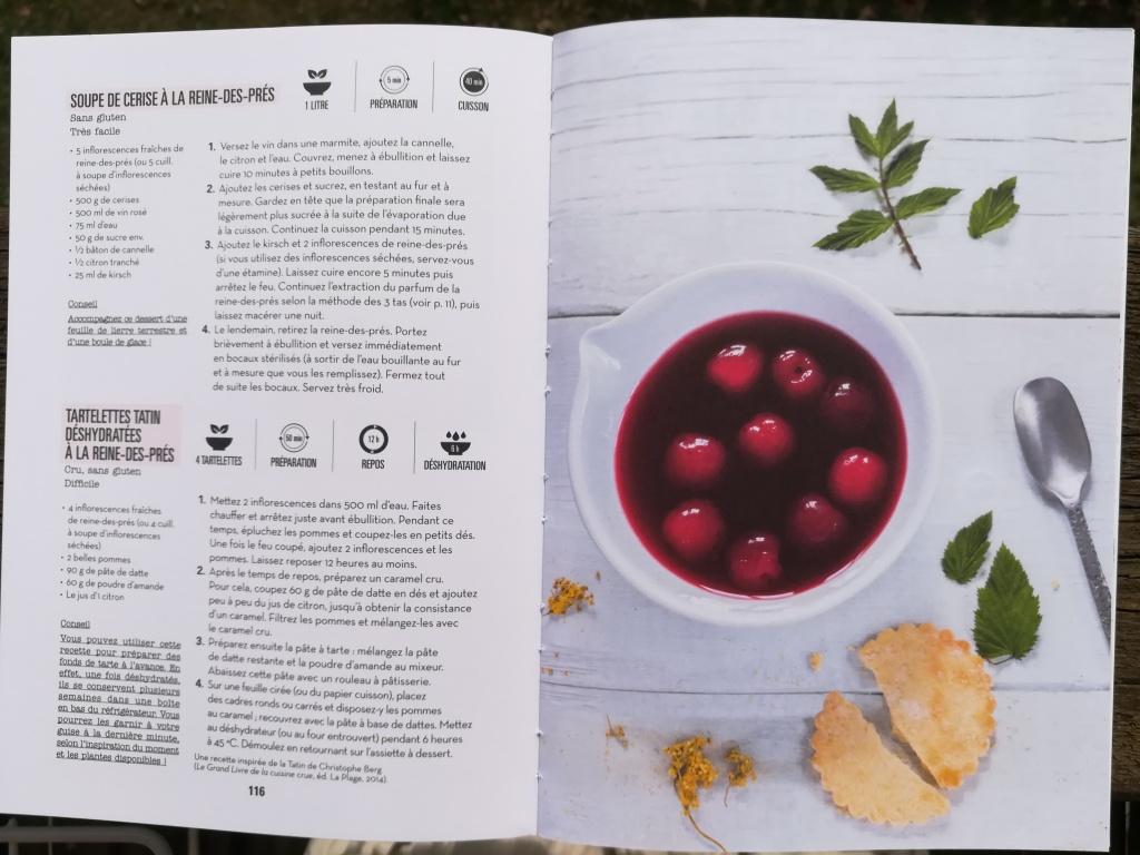 Soupe de cerise à la reine-des-prés : recette et photo