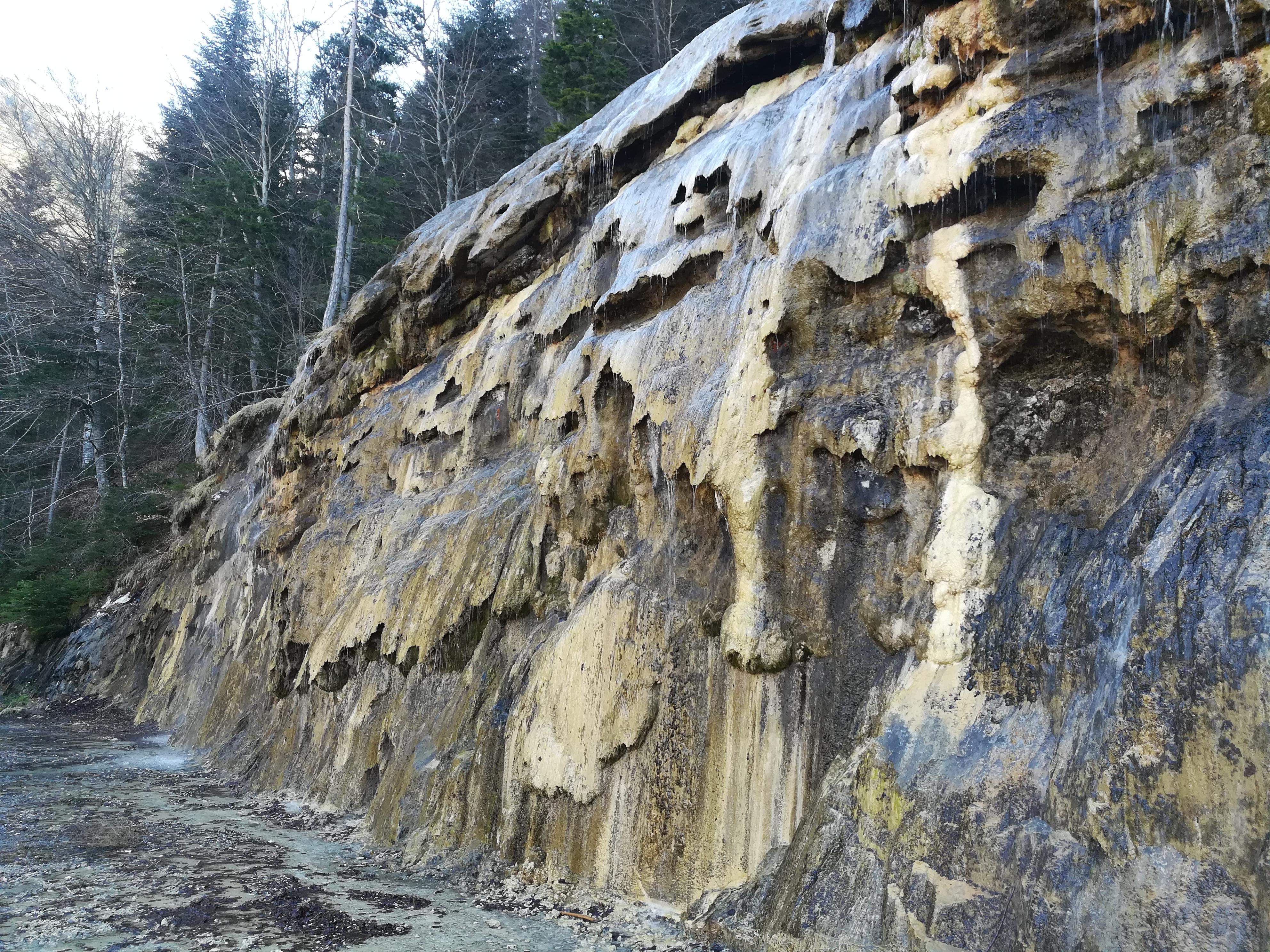 Les roches de la tuffière